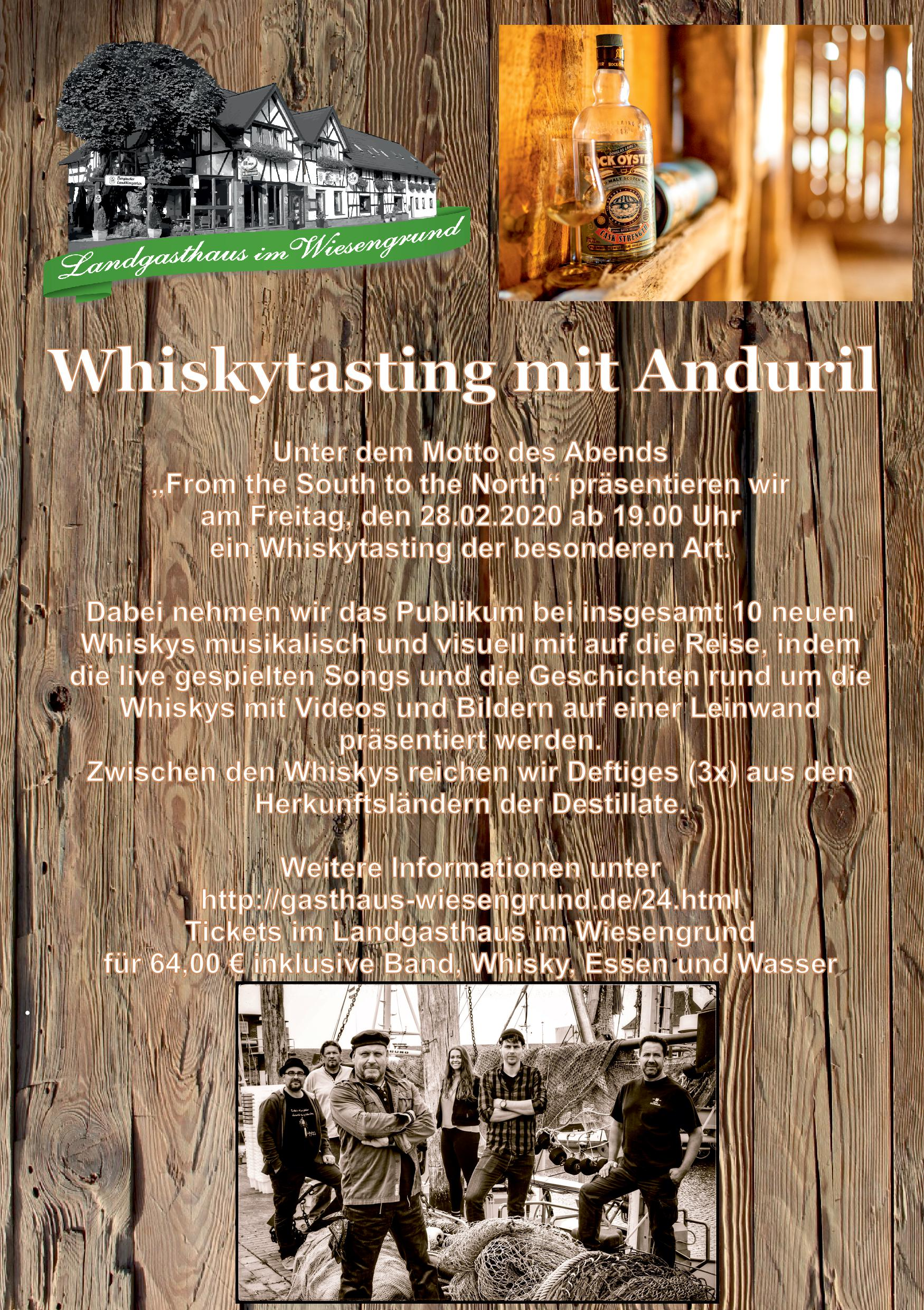 Whiskytasting Anduril